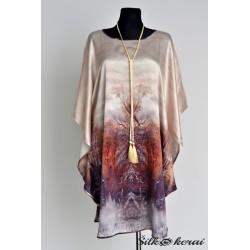 Šilkinė suknelė SU10103