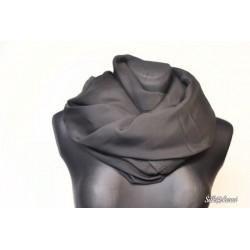 Audinys natūralaus šilko - juodos spalvos