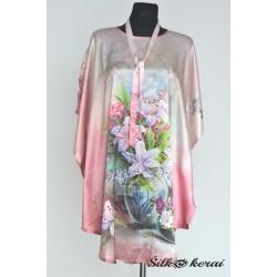 Šilkinė-suknelė-gėlės