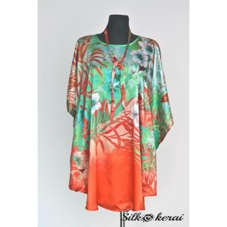 Šilkinė suknelė SU10122