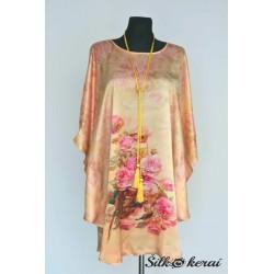 Šilkinė-suknelė-gelsva