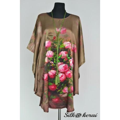 Šilkinė suknelė SU10124