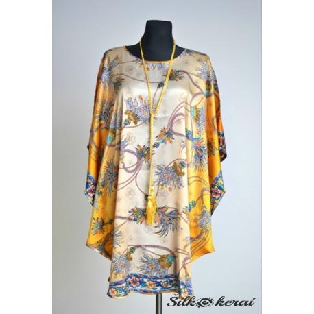 Šilkinė suknelė SU10126