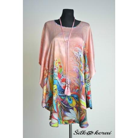 Šilkinė suknelė SU10127