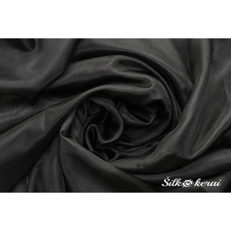 Šilkinis šalikas juodas